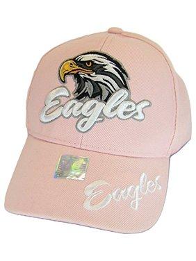 aba2eabf5 Joycap Men's Eagles Adjustable Baseball Cap (Pink)