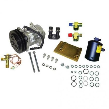 Air Conditioning Compressor Conversion Kit - Late Models, New, (Fender Conversion Kit)
