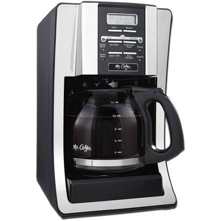 Mr.Coffee 12-Cup Programmable Coffee Maker, BVMC-SJX33 Black