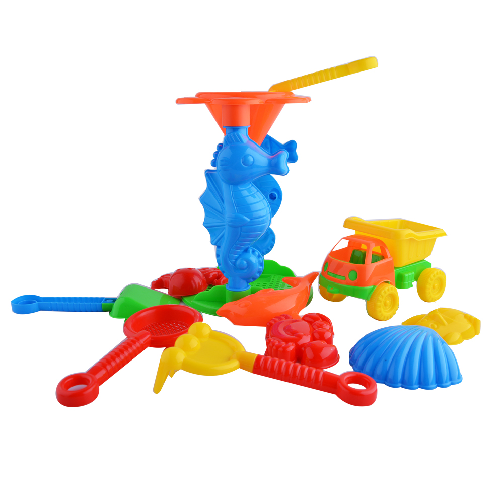 LeadingStar Beach Toys Set,11-Pieces Beach Play set by