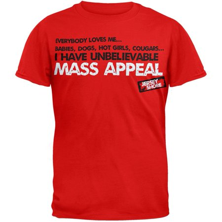 Jersey Shore - Mass Appeal T-Shirt](Funny Jersey Shore)