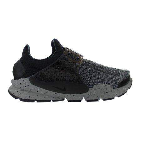 395a7d13de8 Mens Nike Sock Dart SE Premium Black White University Red Dust 859553- -  Walmart.com