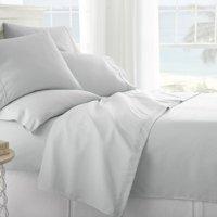 Noble Linens Premium Ultra Soft 6 Piece Solid Sheet Set