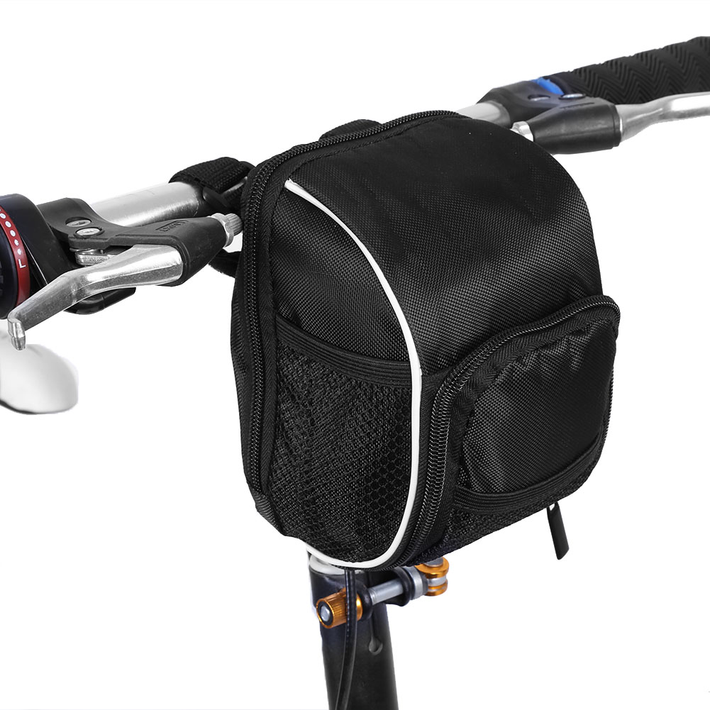 Aramox Black Multi-function Quick Release Bicycle Cycling Front Frame Tube Handlebar Bag Pouch , handlebar bag