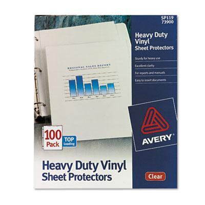 Avery Heavy Duty Vinyl Sheet Protector Avery Heavy Duty Vinyl
