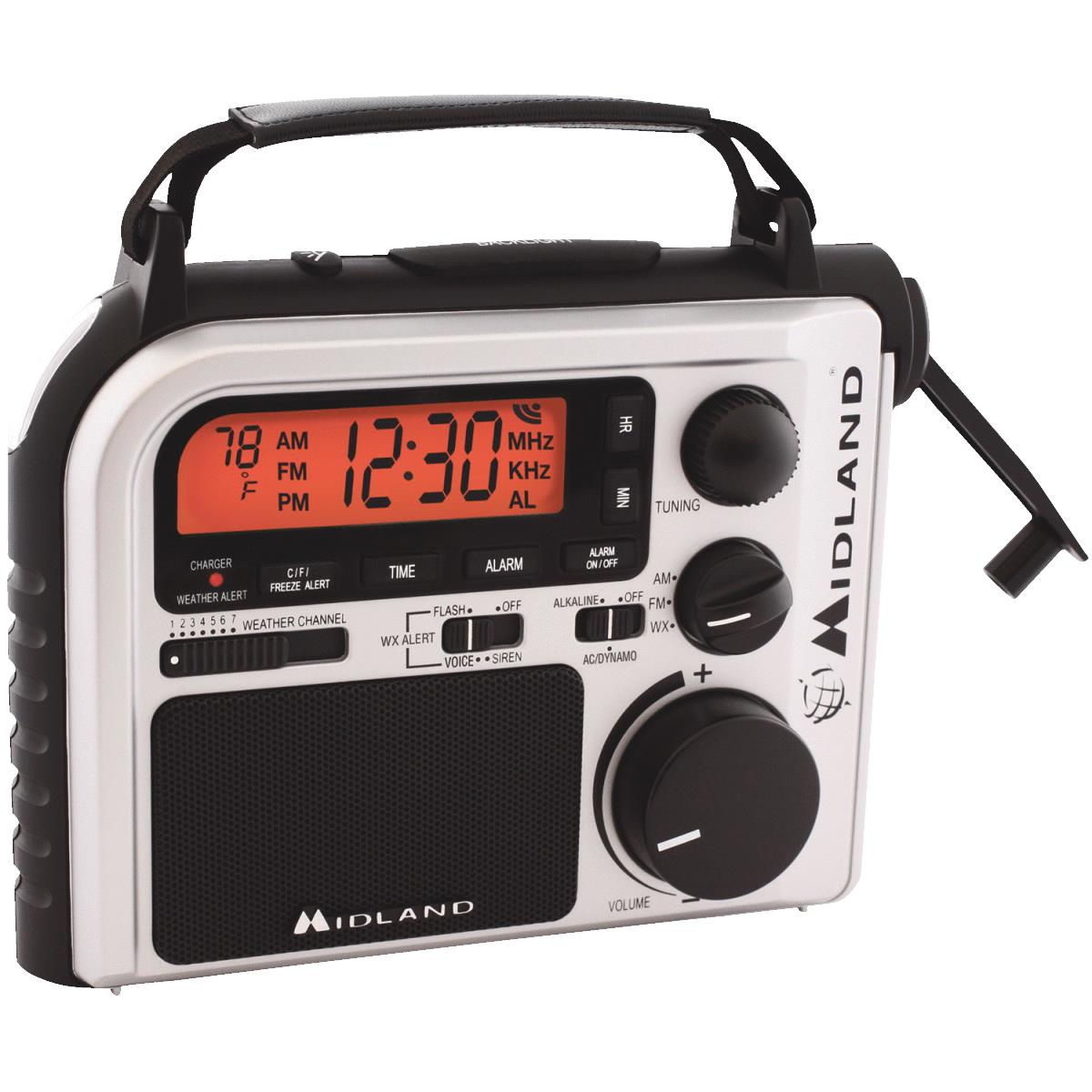 Emergency Crank Weather Alert Radio