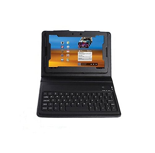 OUTOP IMAGE Wireless Bluetooth Keyboard Leather Case Cove...