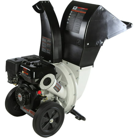 Brush Master 2.25 diameter feed, 3-in-1 top discharge 208cc Chromium Steel Gas Wood Chipper