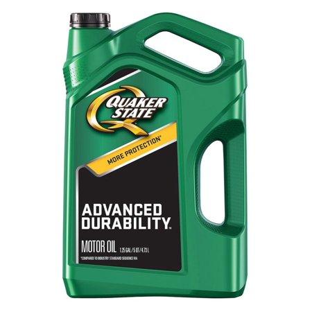 Quaker State 5W-20 Advanced Durability Motor Oil, 5 qt