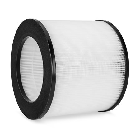 Best Choice Products Air Purifier Replacement Filter Part w/ True HEPA and Fine Preliminary Layers for Allergens, Pet Dander, Dust, Bacteria, Pollen, Smoke, Mold, and - Best Air Replacement