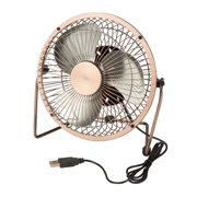Honey Can Do 6'' Table Fan with USB Powering
