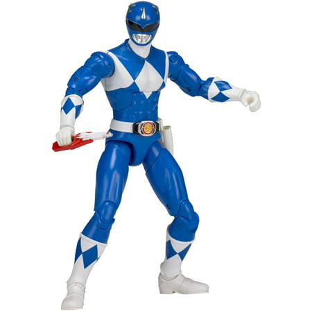 Power Rangers Legacy Mighty Morphin Blue Ranger - Power Ranger Toy Gun
