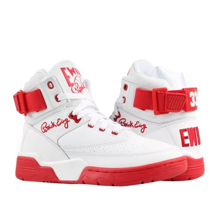 Ewing Athletics Ewing 33 Hi White/Red Men's Basketball Shoes