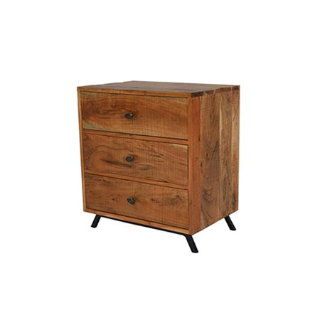 Moti Anaheim 3 Drawer Side Table 16 X 24 X 27 In Walmartcom