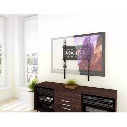 "Sonax E-0066-MP Fixed Low Profile Wall Mount for 26"" - 50"" TVs"