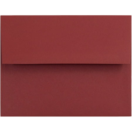 jam paper a2 invitation envelope a2 4 3 8 x 5 3 4 dark red 50