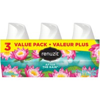 Renuzit Gel Air Freshener, After the Rain, 7.0 Ounce, 3 Count