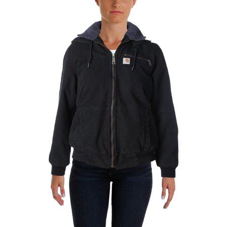Carhartt Womens Removable Hood Fleece Lined Jacket