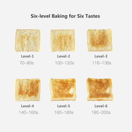 Xiaomi Deerma Bread Baking Machine Electric Toaster Household Automatic Breakfast Toast Sandwich Maker Reheat Kitchen Grill Oven Stainless Steel - image 2 of 7