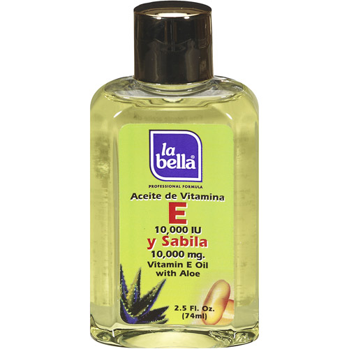 La Bella Vitamin E with Aloe Oil, 2.5 fl oz