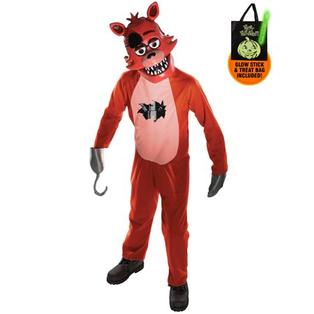 Five Nights at Freddy's Youth Foxy Costume Treat Safety Kit - Safety Costume