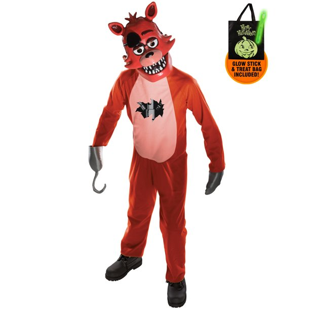 Five Nights at Freddy's Youth Foxy Costume Treat Safety Kit-M