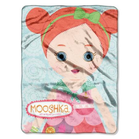 Mooshka Red Heads 46x60 Micro Raschel Plush