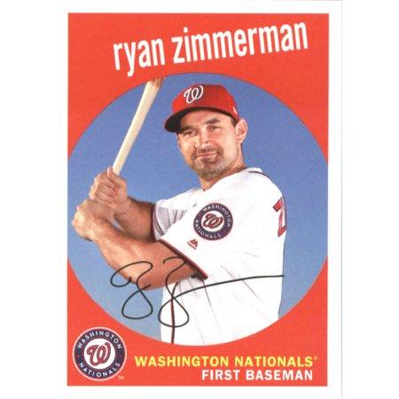 2018 Topps Archives #98 Ryan Zimmerman Washington Nationals Baseball Card ()