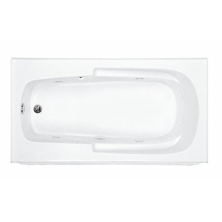 6032 Bathtub (Reliance Baths R6032ISW-B-LH Integral Skirted 60 x 32 in. Whirlpool Bathtub With End Drain, Biscuit Finish)