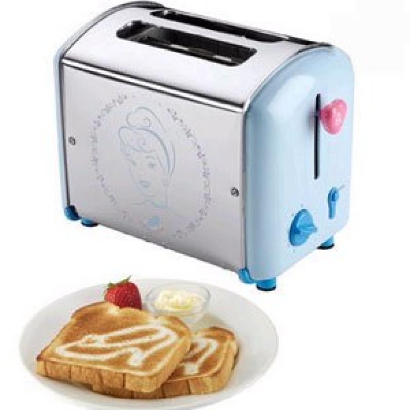 Cinderella Classic Toaster - Have Breakfast With Cinderella.