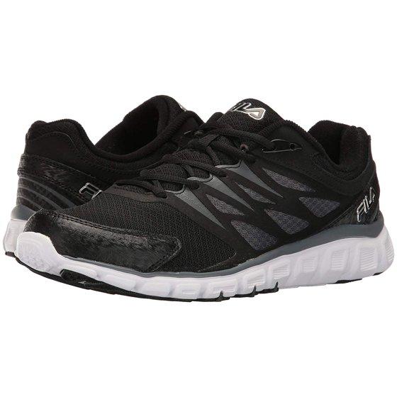 f68b247fb24e Fila - Fila Mens Memory Sendoff 2 Trainer Shoes 1SG30321-002 Black  Castlerock Metallic Silver Size- 11.5 - Walmart.com