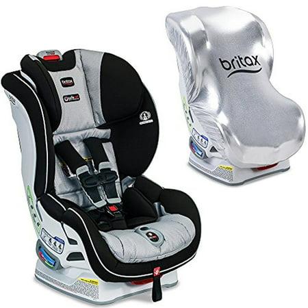 Britax USA Boulevard ClickTight Convertible Car Seat With Sun Shield Trek