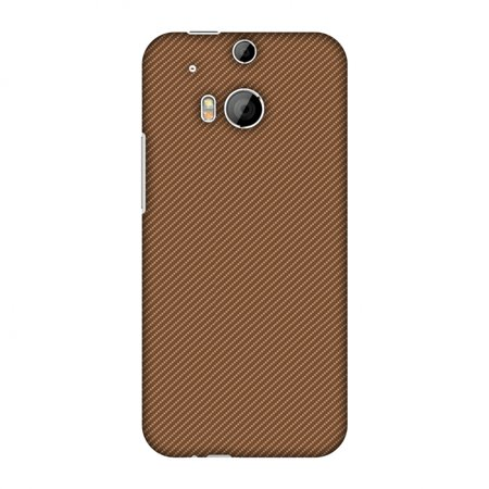 HTC One M8s Case, HTC One M8 EYE Case - Butterum Texture,Hard Plastic Back Cover, Slim Profile Cute Printed Designer Snap on Case with Screen Cleaning Kit ()