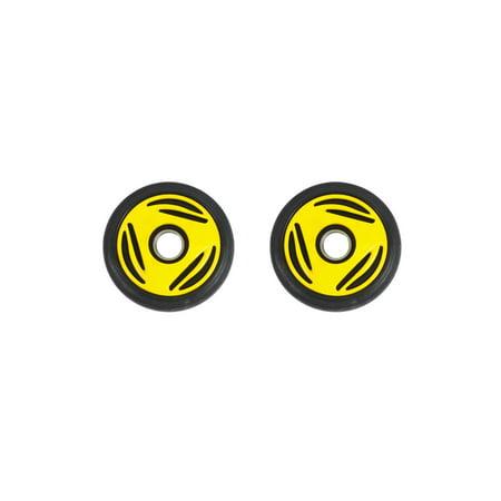 PDD Mid Rail Yellow Idler Wheels Kit for Snowmobile BOMBARDIER/SKI-DOO Grand Touring (all) 1997-2000