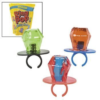 Ring Pop Party Pack - Easter & Easter Candy & Chocolate - Ring Pops