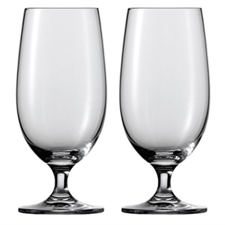 - Schott Zwiesel Tritan Crystal Glass Mondial Stemware Collection All Purpose Beverage, WaterBeer Glass 13.2Ounce, Set of 6