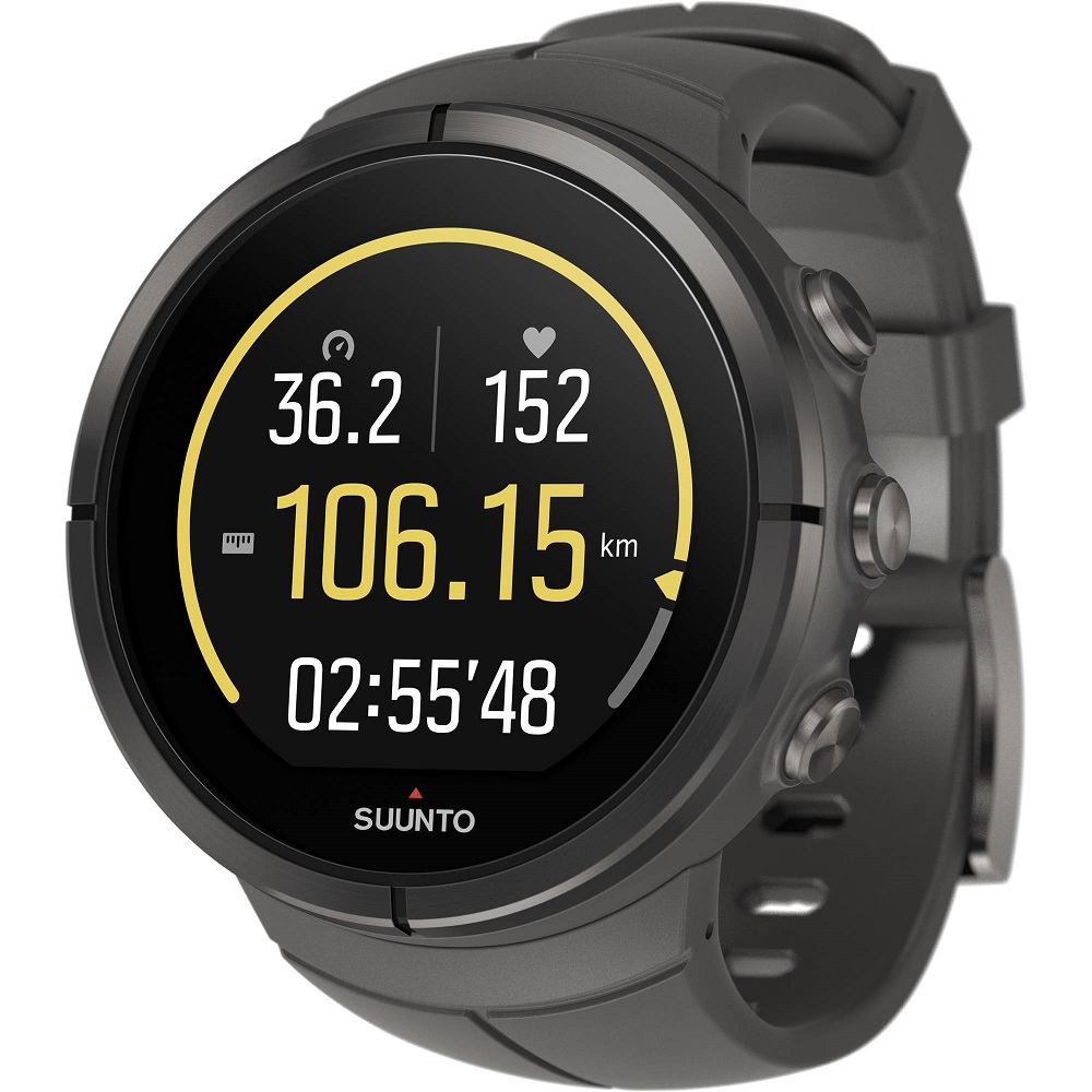 Suunto Spartan Ultra Watch with Chest HR, Black by Suunto