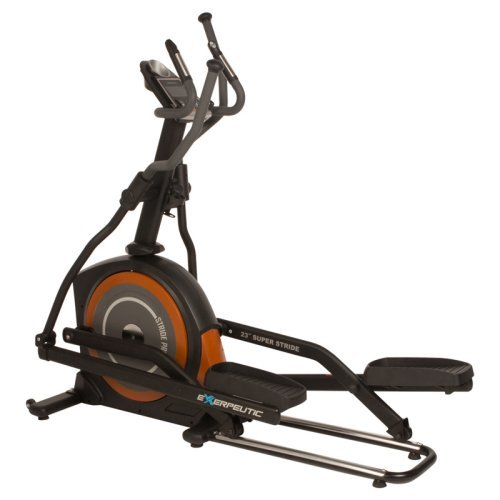 Exerpeutic 650 Heavy Duty 23 in. Fitness Club Stride Programmable Elliptical