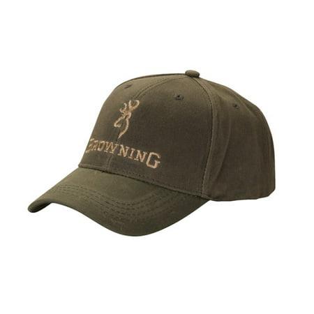Browning Cap Dura Wax Solid Olive Ea SKU: 308412381 with Elite Tactical Cloth Elite 120 Caps