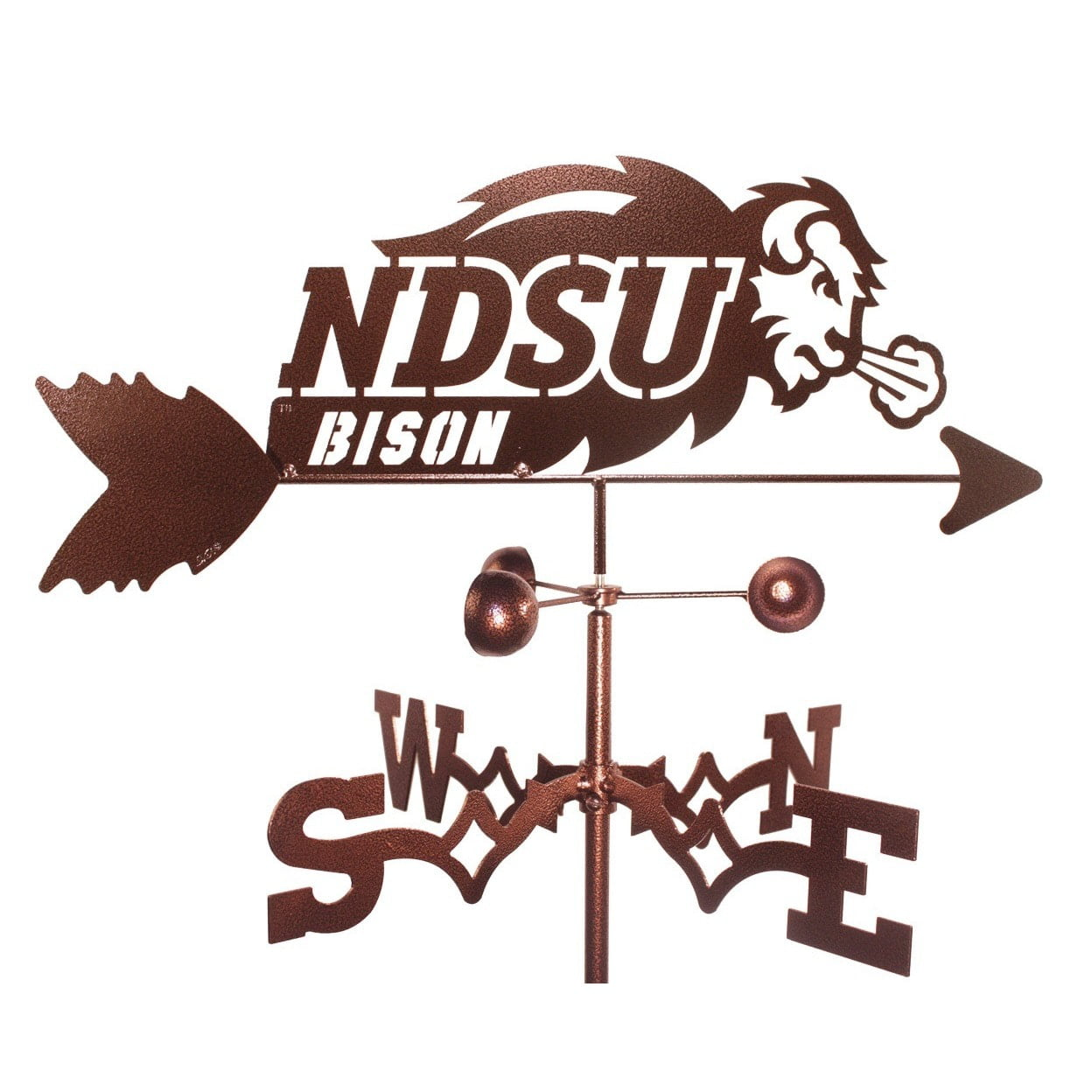 SWEN Products Inc North Dakota State University (NDSU) Bison Weathervane by Overstock