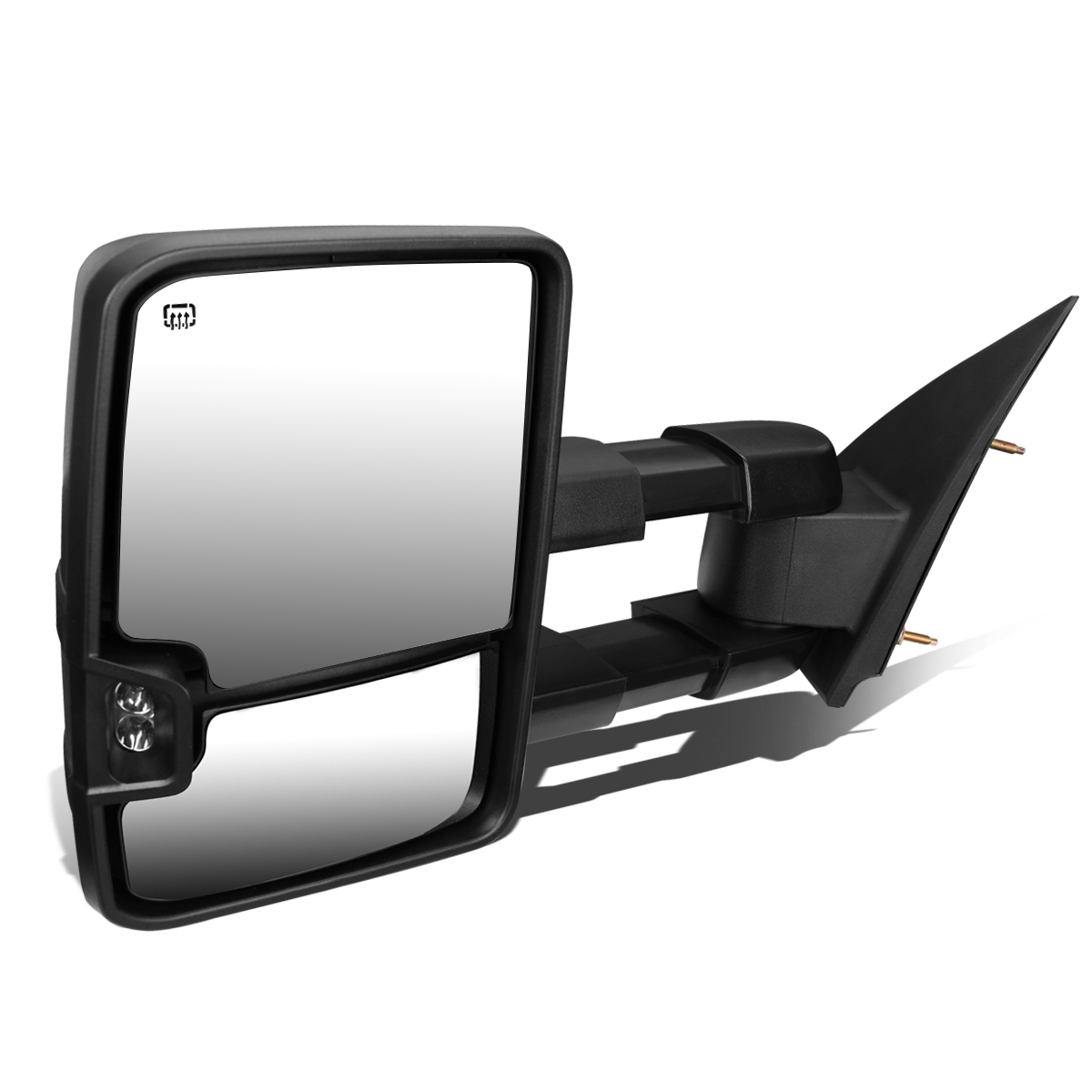 For 2003-2007 Chevy Tahoe/GMC Yukon Powered+Heated+Smoked LED Turn Signal Towing Mirror (Left/Driver)