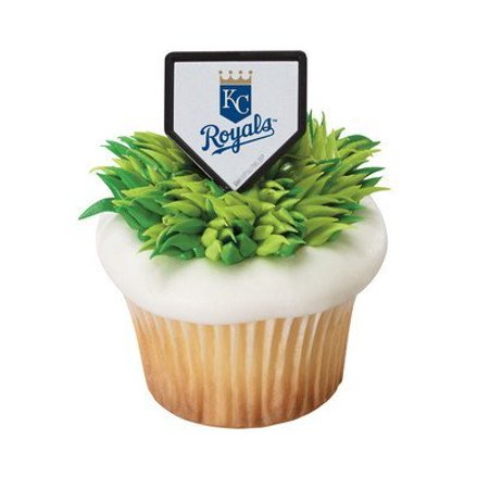 MLB Cupcake Topper Rings - Kansas City Royals by, Package contains 12 rings By DecoPac