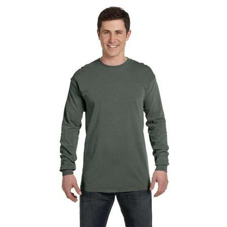 f5aeab2791837 Comfort Colors - Comfort Colors 4410-Tumbleweed-S Adult Long Sleeve Pocket  Tee  44  Tumbleweed - Small - Walmart.com