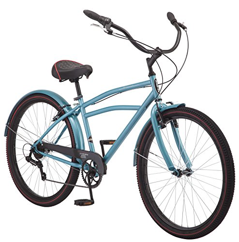 """Schwinn Costin  Bicycle-Color:Blue,Size:27.5"""",Style:Men's Cruiser"""