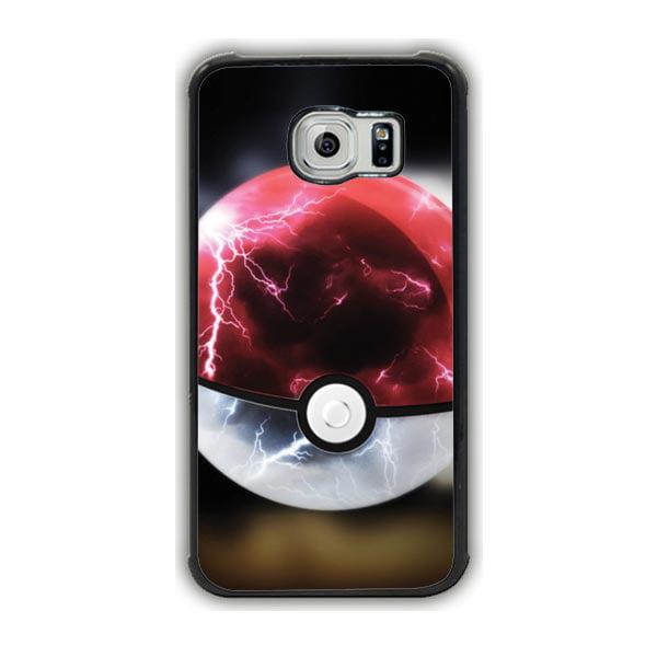 Pokemon Pokeball Lightning Galaxy S6 Case