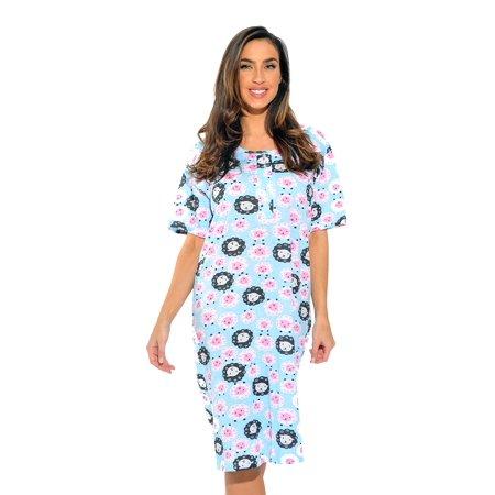 229e396a87 Just Love - Just Love Short Sleeve Nightgown   Sleep Dress for Women    Sleepwear - Walmart.com