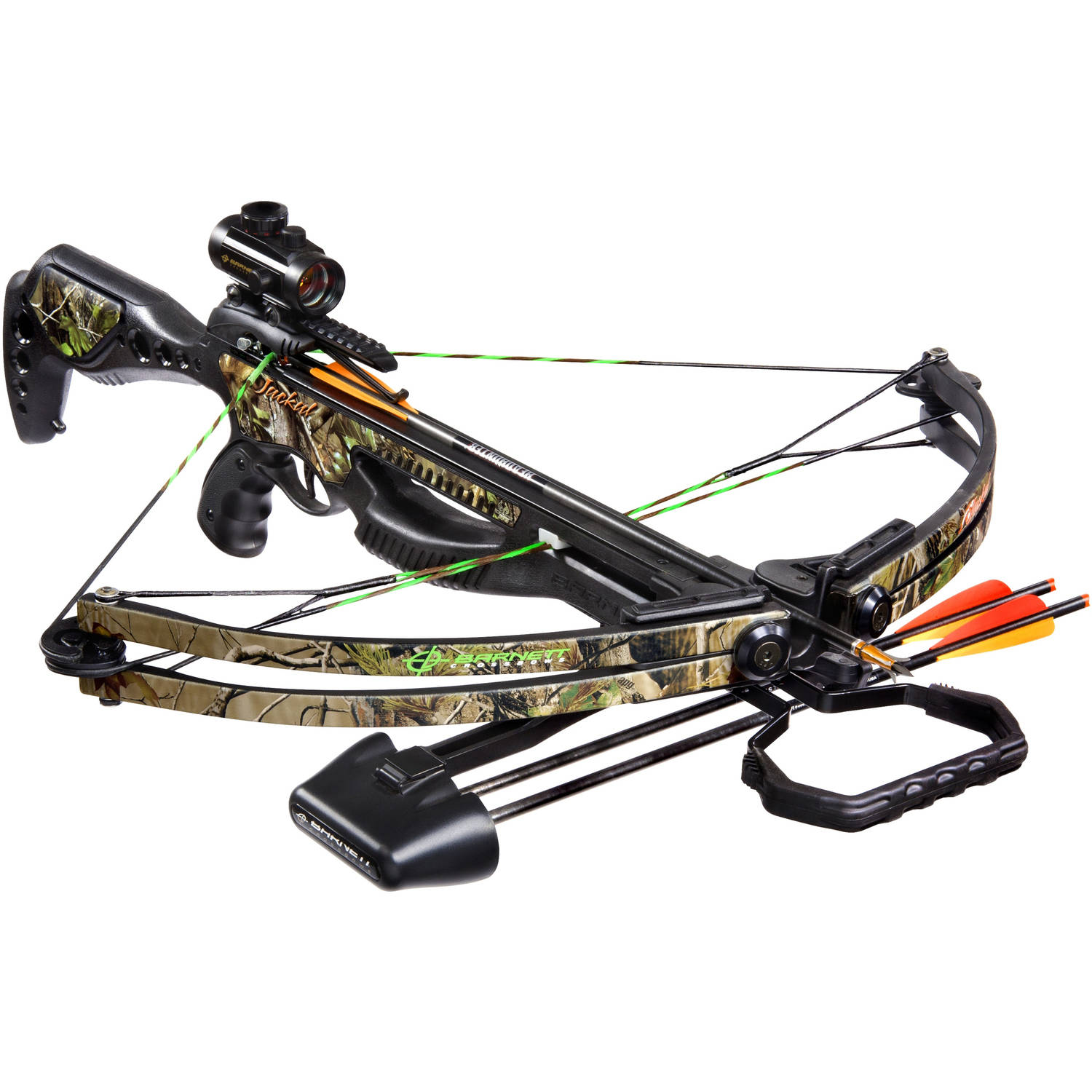 Barnett Sports & Outdoors Jackal Hunting Crossbow Package, Camouflage by Barnett