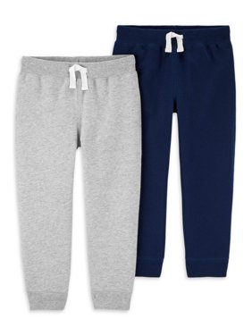 Child of Mine by Carter's Baby Toddler Boys French Terry Jogger Sweatpants, 2pk
