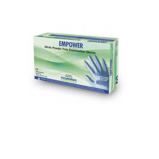 XXL Empower 8mm Nitrile Powder Free Exam Gloves 900 Case