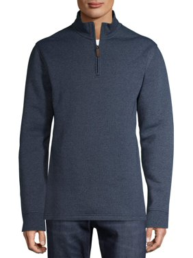 George Men's and Big Men's Quarter Zip Fleece, up to Size 5XL